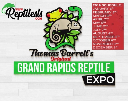 Grand Rapids Reptile Expo 2019